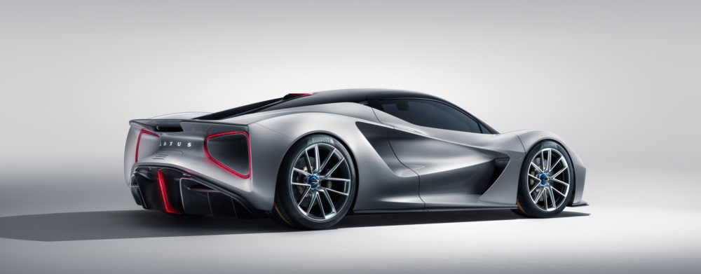 Lotus Evija, a limited edition electric British hypercar