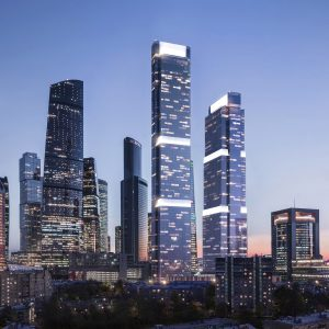 Neva Towers, a new iconic address for life in Moscow