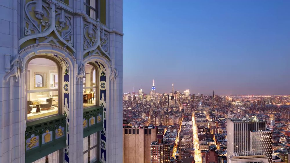 The Woolworth Tower Residences, Tribeca, New York