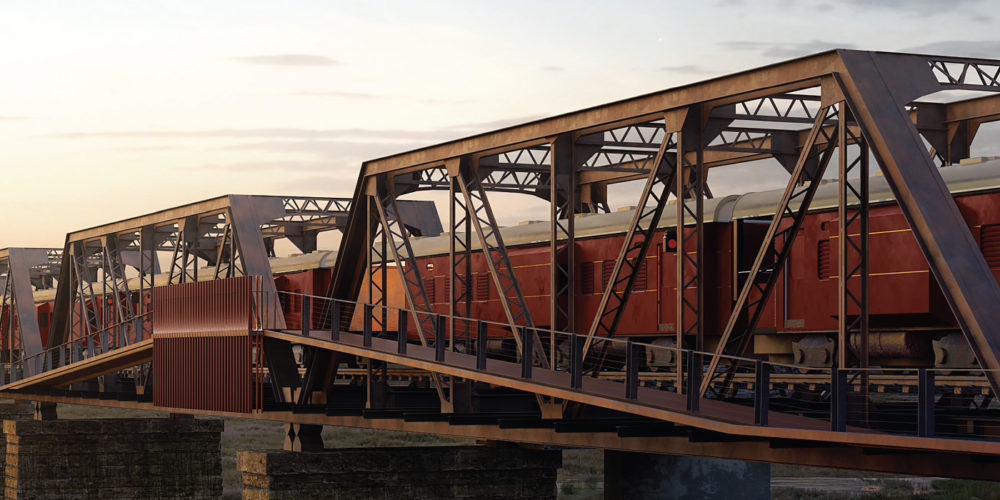 Kruger Shalati: the afrocentric luxury train to be stationed atop the historical Selati bridge