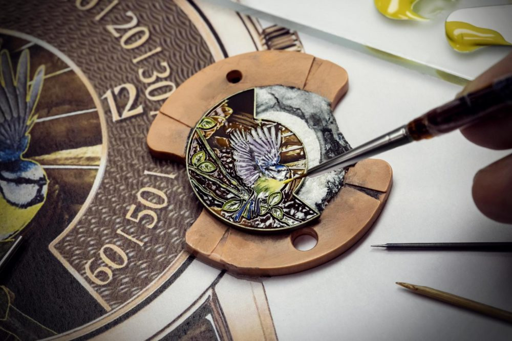 Les Cabinotiers – the singing birds by Vacheron Constantin
