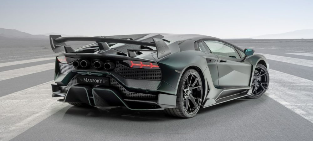 MANSORY Cabrera: a complete vehicle conversion based on a Lamborghini Aventator SVJ