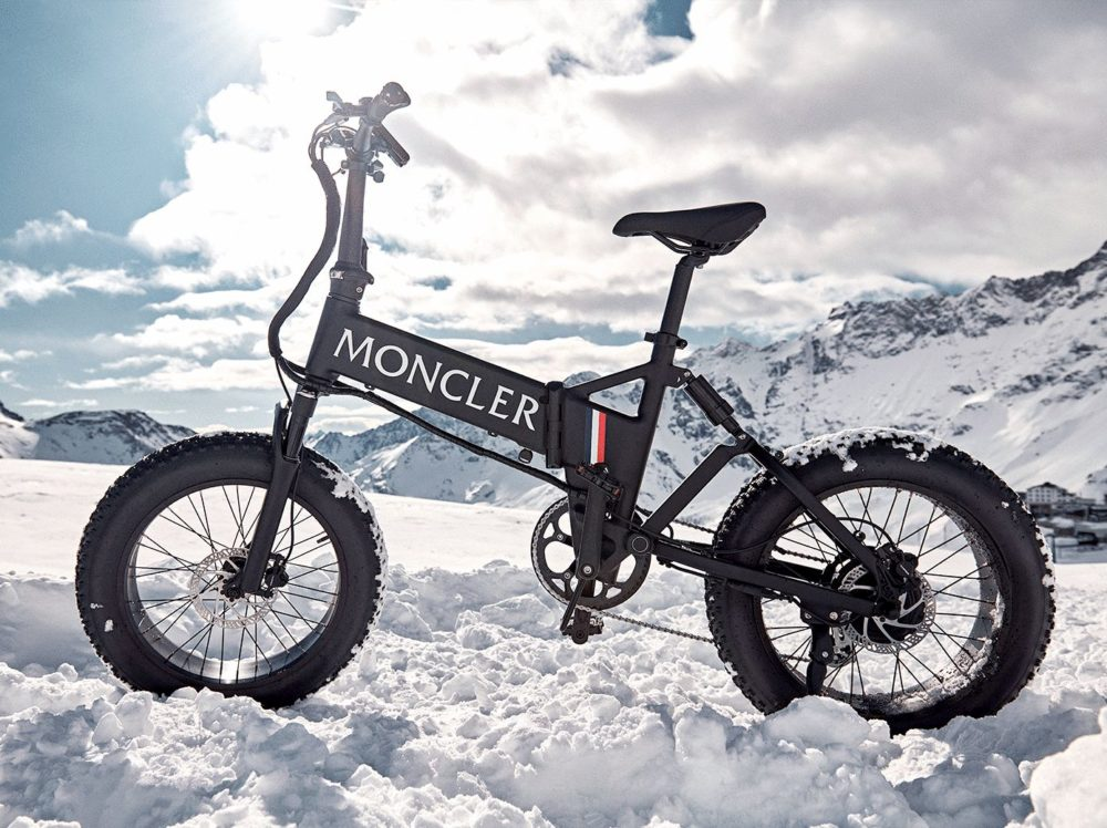 Introducing the MATE x Moncler Genius 2020 eBike