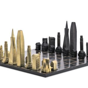 Skyline Chess redefine the ageless game in stunning cityscape chess boards