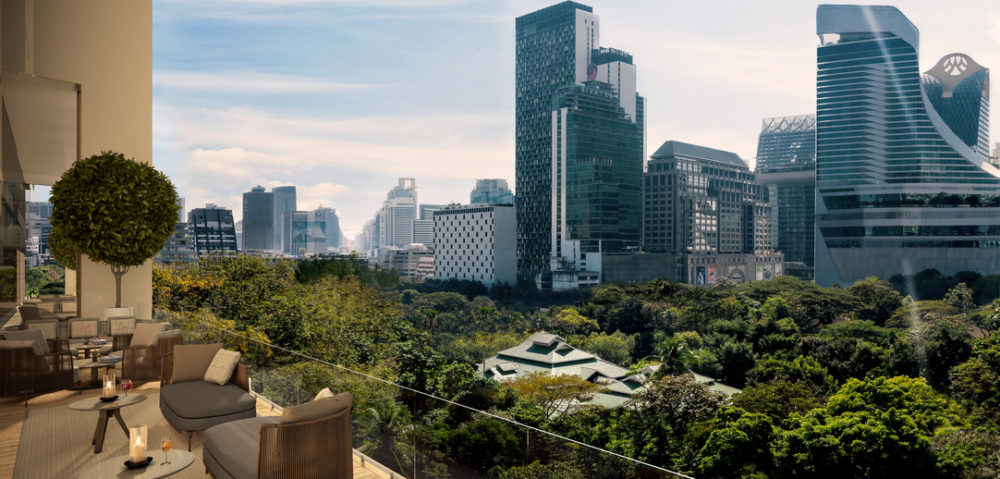 Aman Nai Lert Bangkok Hotel and Residences set to open in 2022