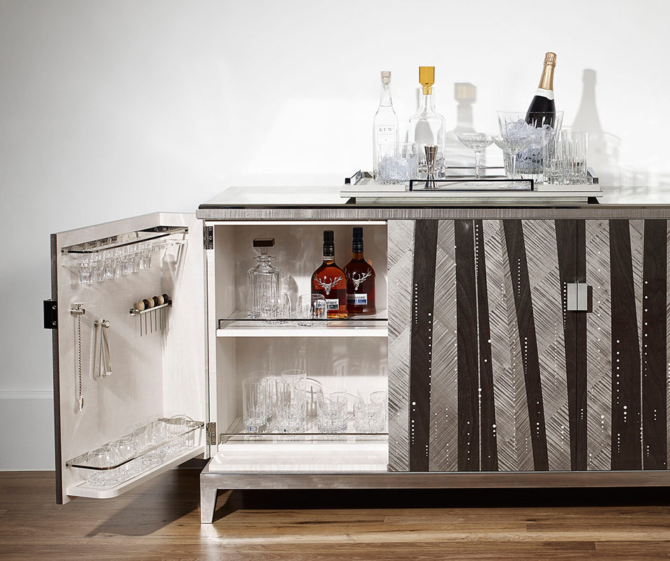 The Linley Cocktail Bar exudes sophistication, wit and charm