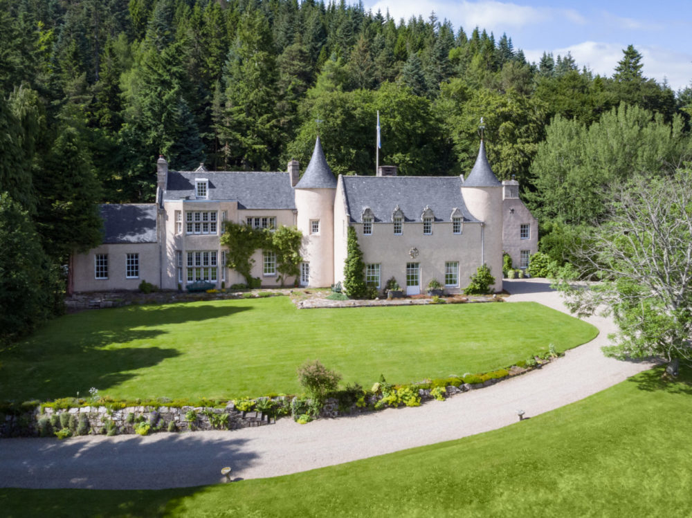 Stay in a luxurious castle in Scotland including Candacraig and Scone Palace