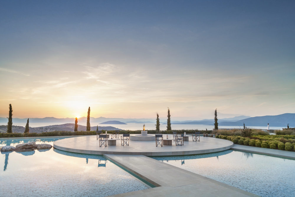 Amanzoe, Porto Heli, an entire hilltop and private beach for unrivalled seclusion in Greece