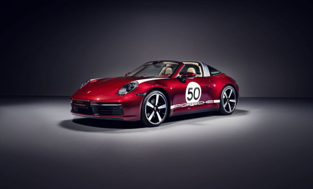 The 2021 Porsche 911 Targa 4S Heritage Design Edition