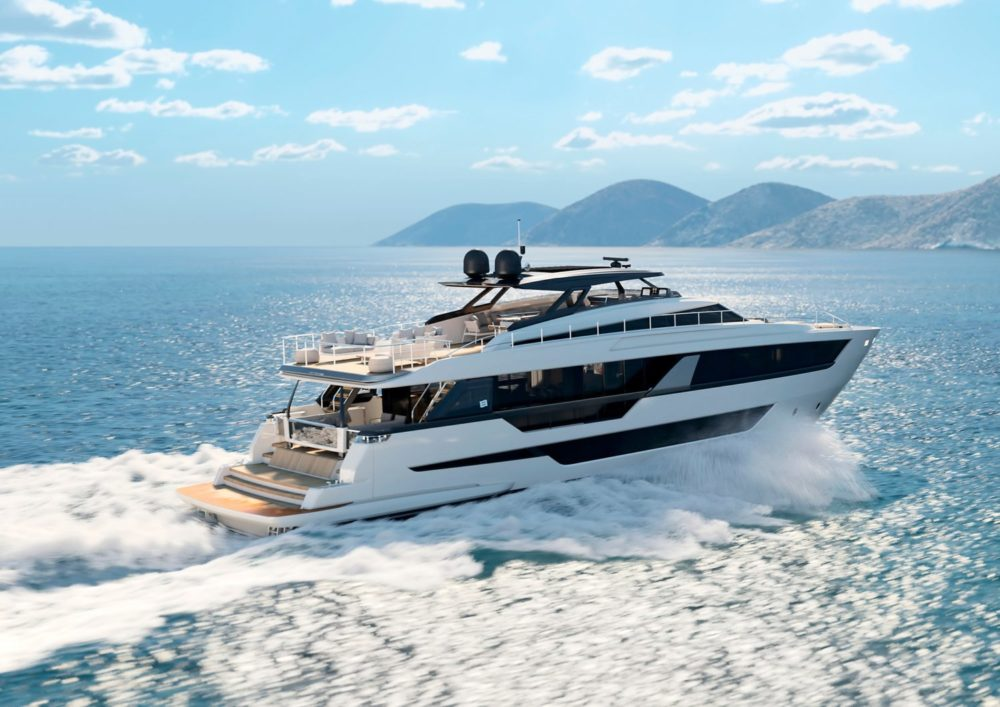Ferretti Yachts reveals its future in the shape of its new flagship 1000 series