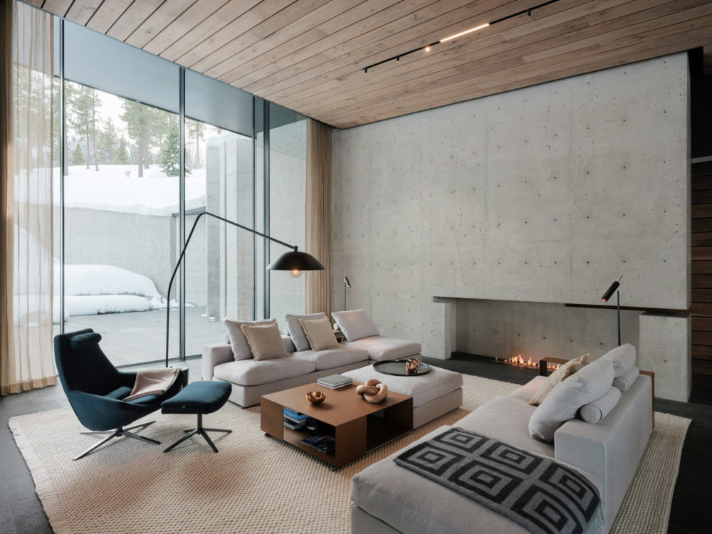 The Lookout House by Faulkner Architects in Truckee, California