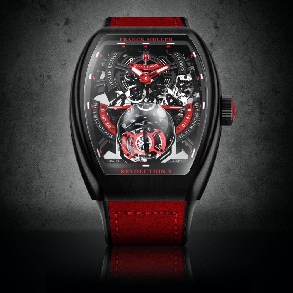 Introducing the Vanguard Revolution 3 Skeleton by Franck Muller
