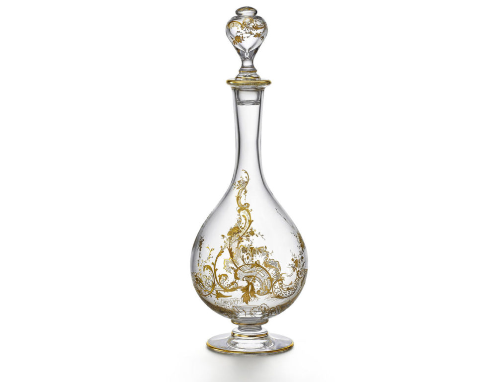 Baccarat's Haute Couture Decanter Beaune