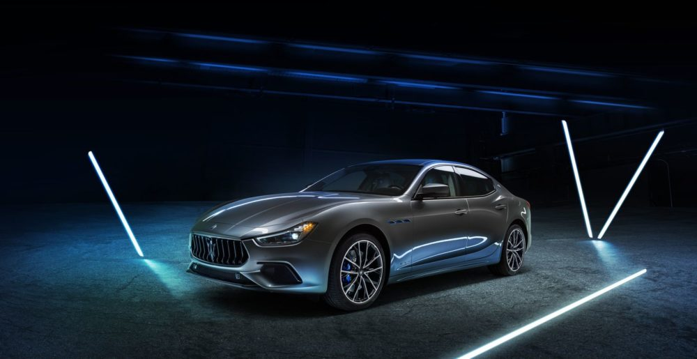 2021 Ghibli Hybrid, the first hybrid vehicle in Maserati's history