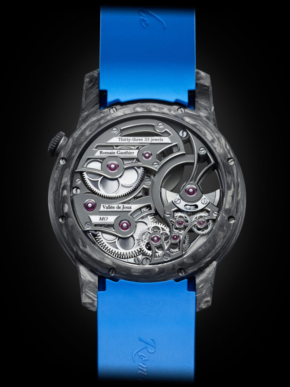 Romain Gauthier's Insight Micro-rotor Squelette Manufacture-Only Carbonium Edition