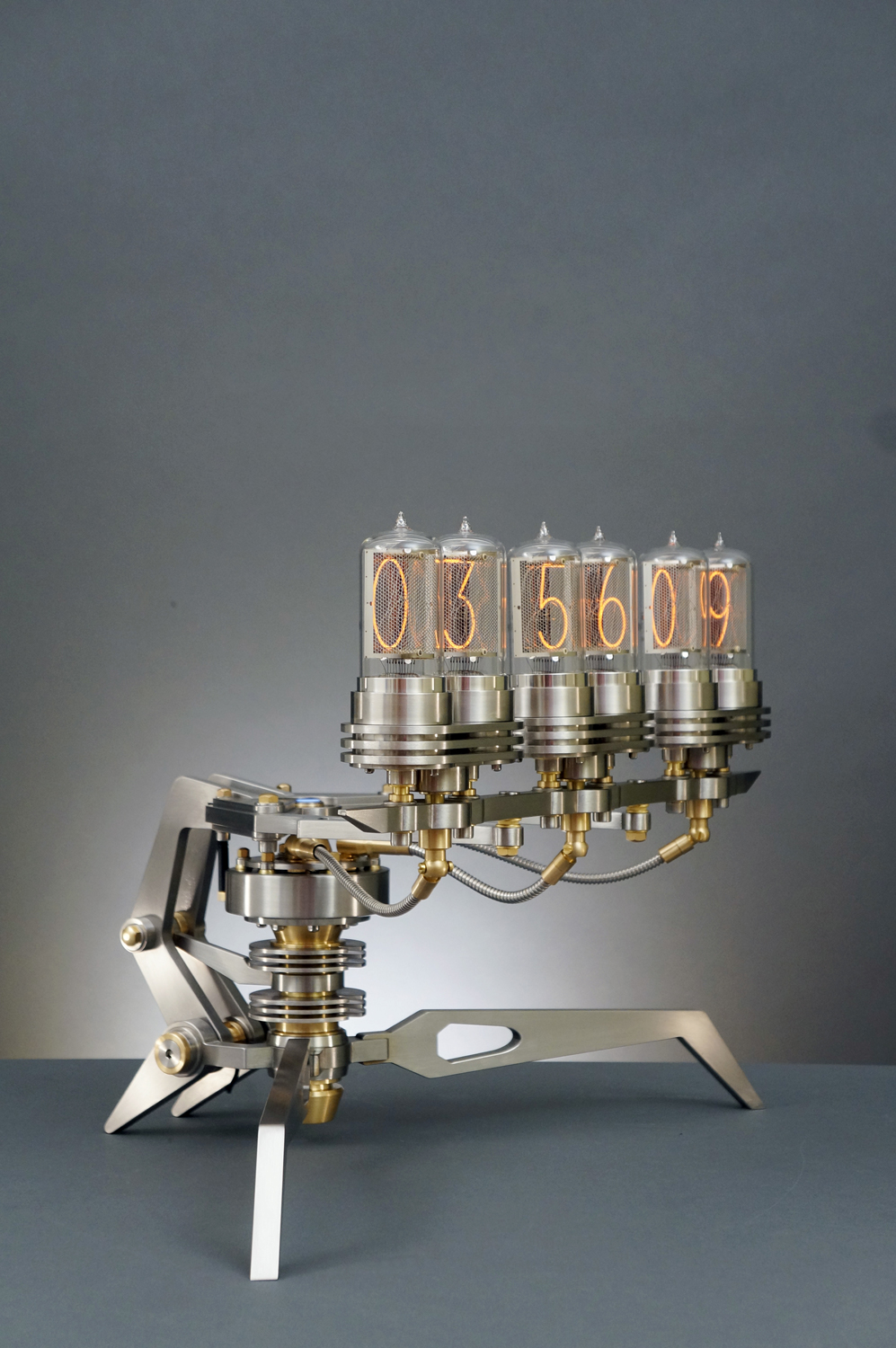 Nixie Machine III: a third and final Nixie Machine by Frank Buchwald, exclusively at the M.A.D.Gallery