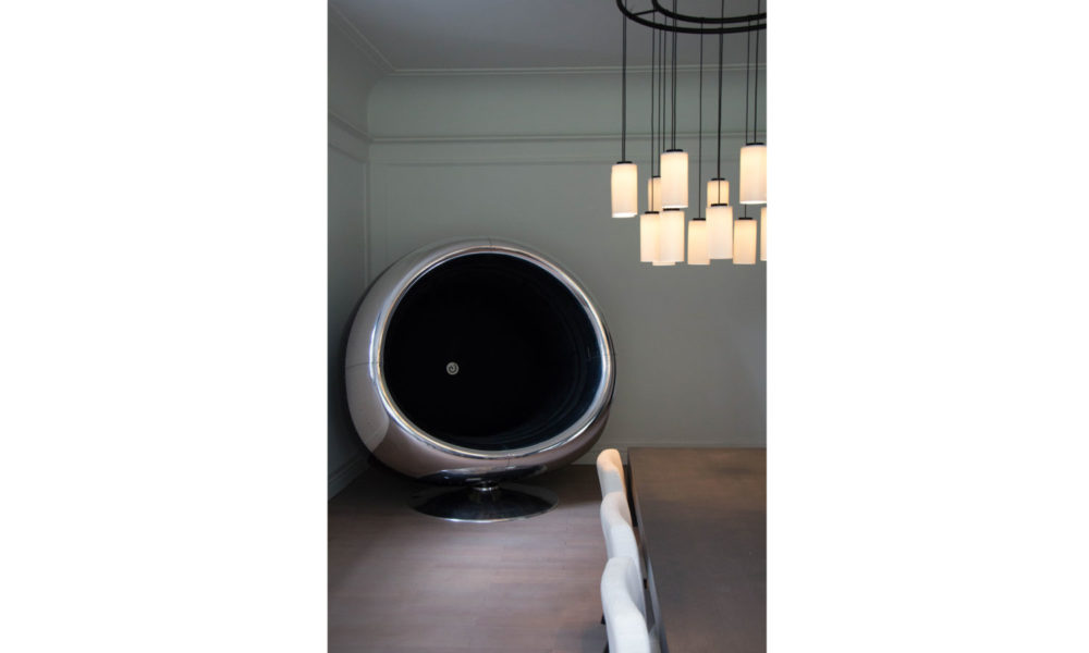 The Boeing 737 Cowling Chair handcrafted by Plane Industries
