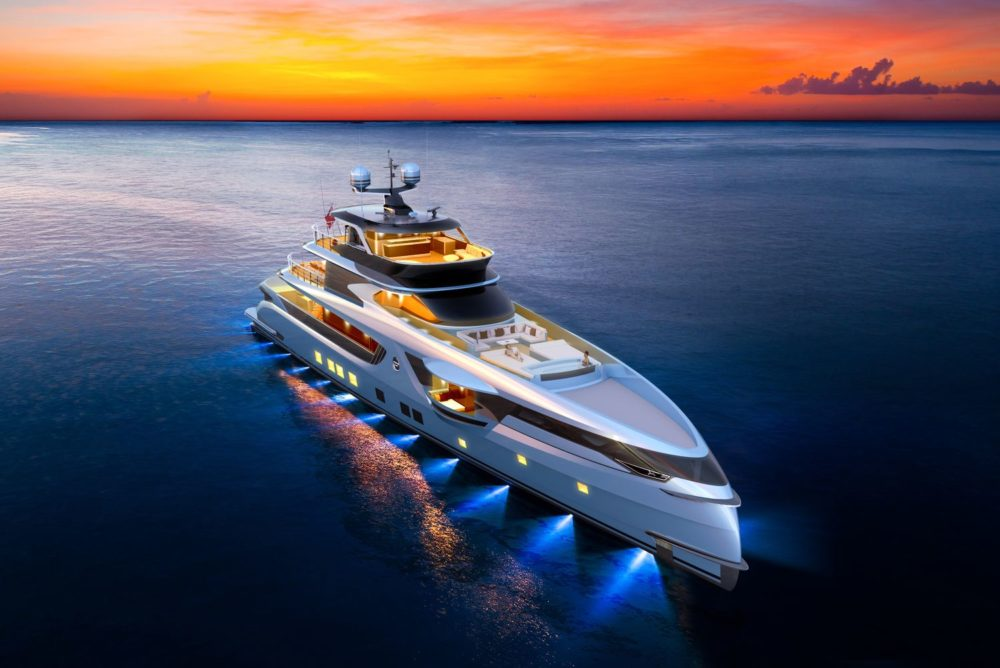 Ultimate relaxation with the new redesigned GTT 165 by Dynamiq Yachts