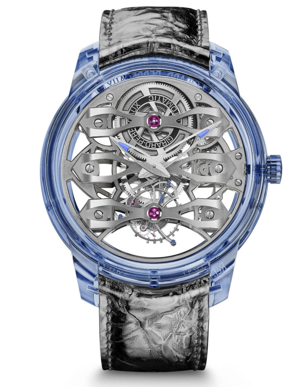 The Girard-Perregaux Quasar Azure watch is limited to just 8 pieces