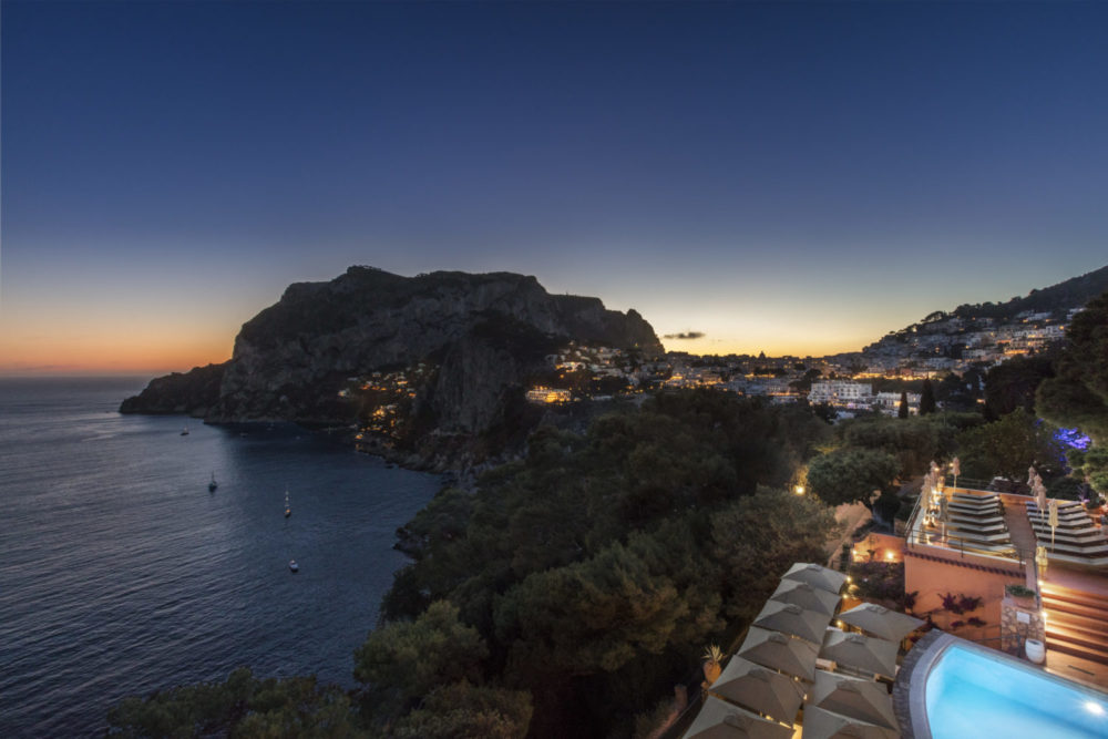 Punta Tragara, one of the most distinctive properties on the island of Capri