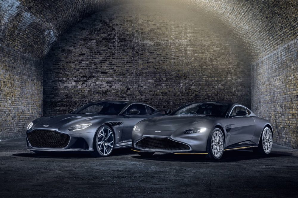 The new Aston Martin 007 Limited Edition sports cars to celebrate No Time To Die