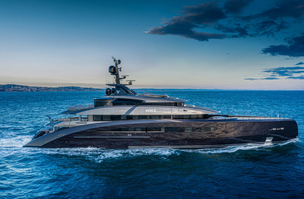 An inimitably Italian touch, CRN delivers the M/Y 137 megayacht