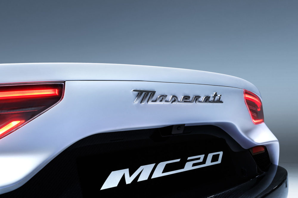 The MC20 super car marks the beginning of Maserati's new Era