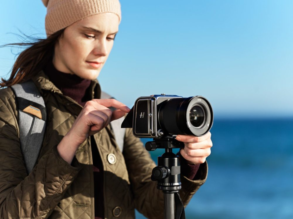 The 907X 50C camera connects Hasselblad's photographic legacy and future into one system