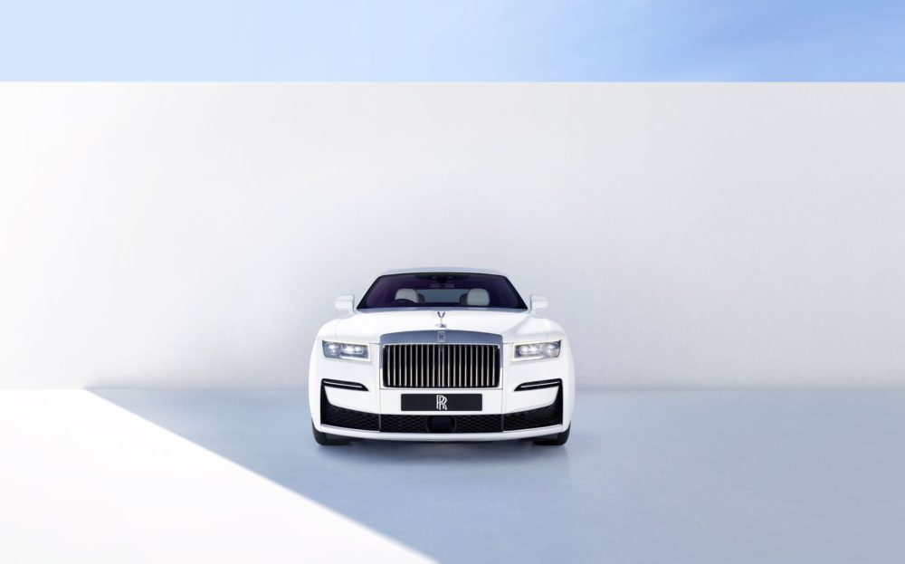 2021 Rolls-Royce Ghost, the most technologically advanced Rolls-Royce yet