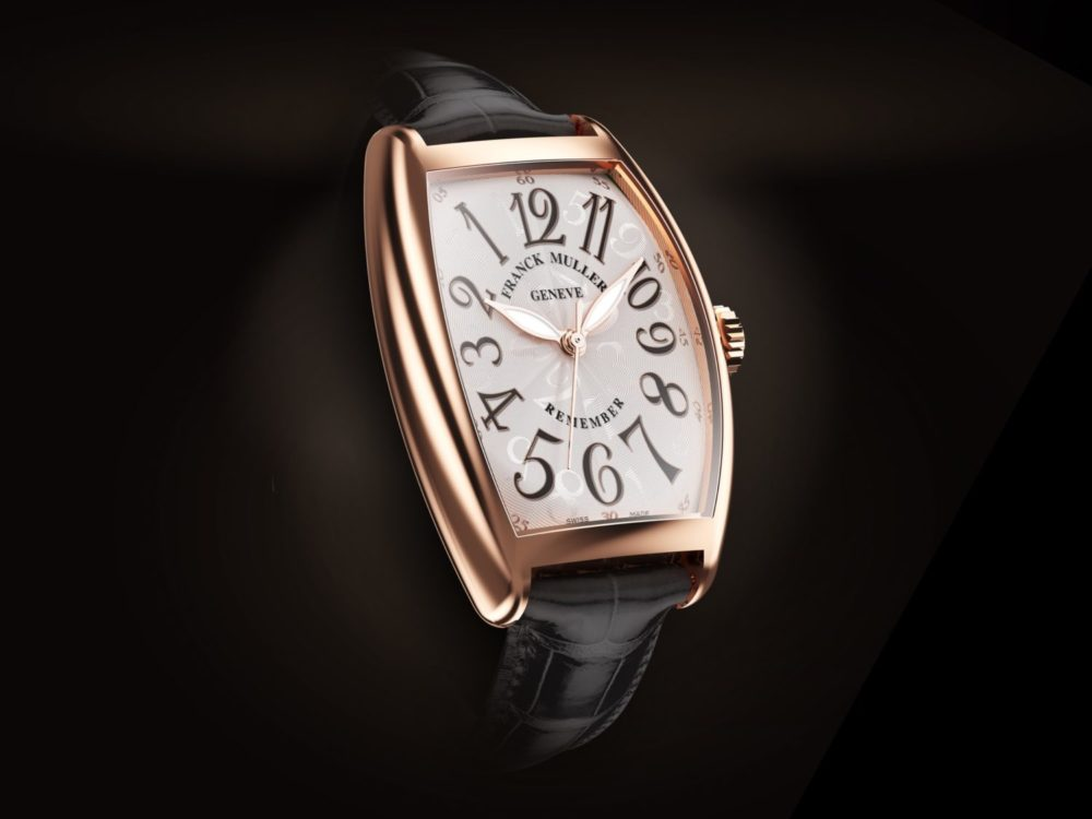 Introducing the Cintrée Curvex Remember by Franck Muller