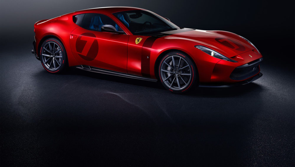 Ferrari Omologata is the latest offering in Ferrari's line of unique coachbuilt one-off models