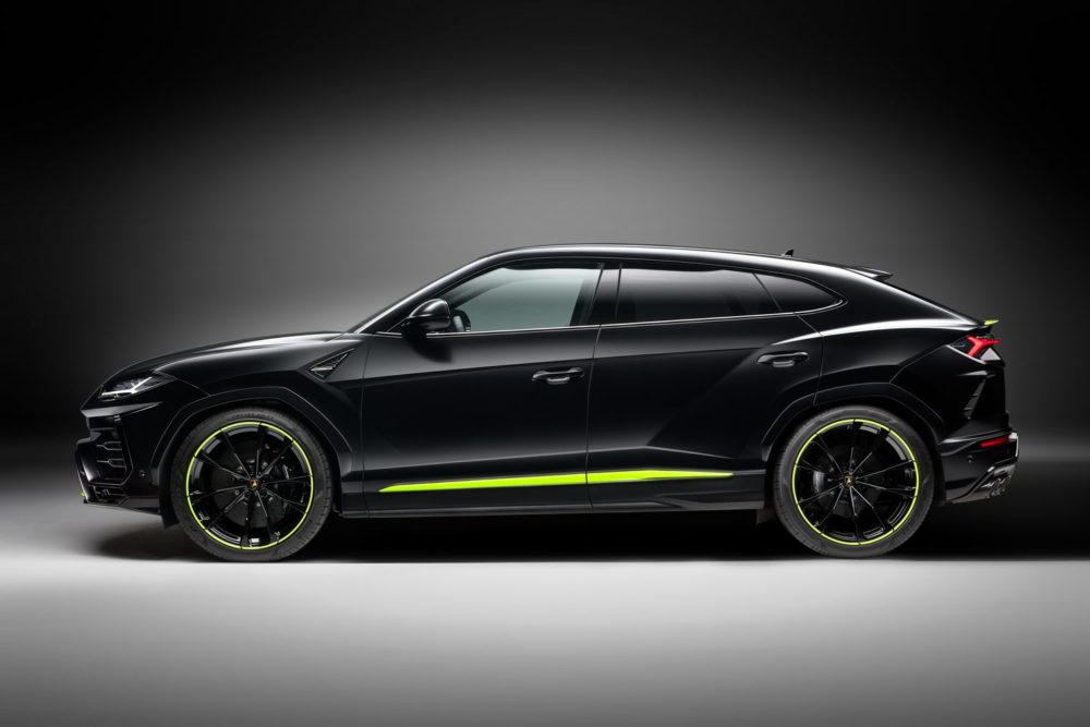 Lamborghini's Urus Graphite Capsule is a statement of bold elegance