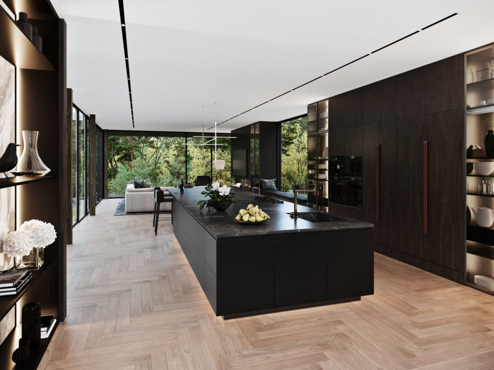 S3 Architecture x Aston Martin 'Sylvan Rock Residence' firmly embraces the natural landscape