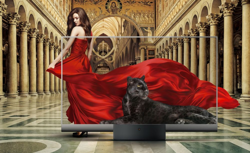 Xiaomi's Mi TV LUX Transparent Edition is the world's first mass-produced transparent TV
