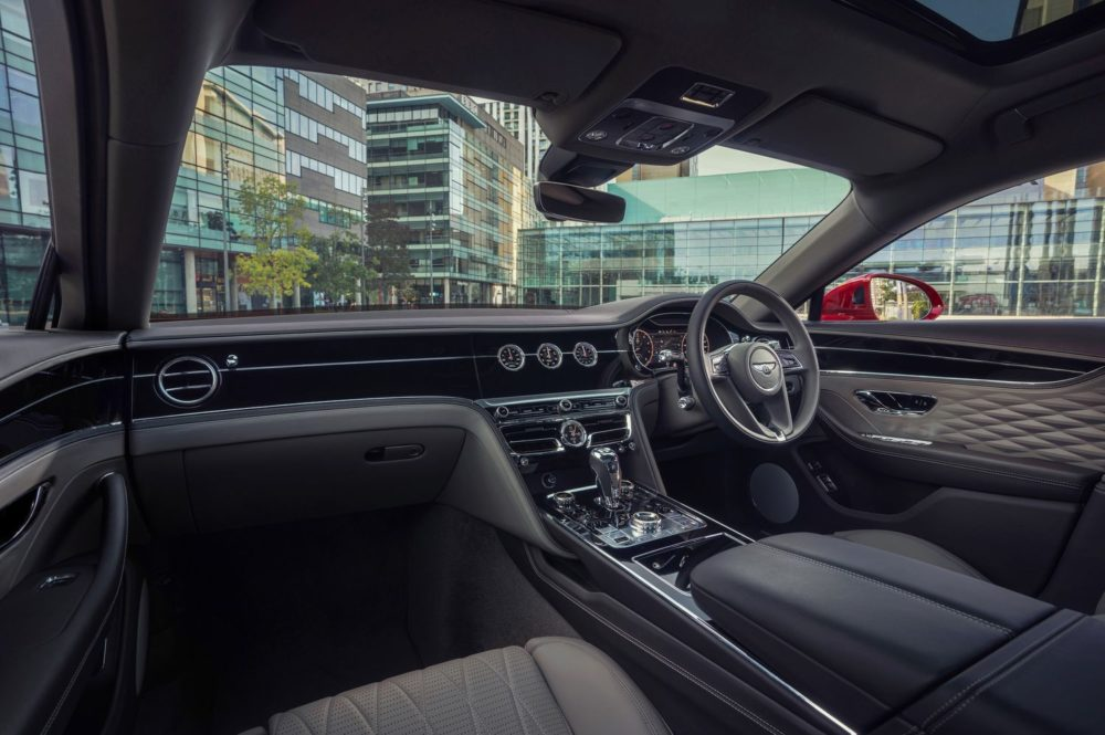 Bentley Flying Spur ready to Soar with V8 Power