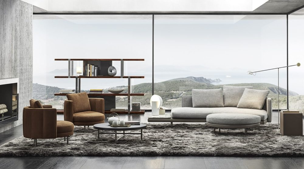 Minotti 2020 Collection, a new ideal of contemporary living by Rodolfo Dordoni