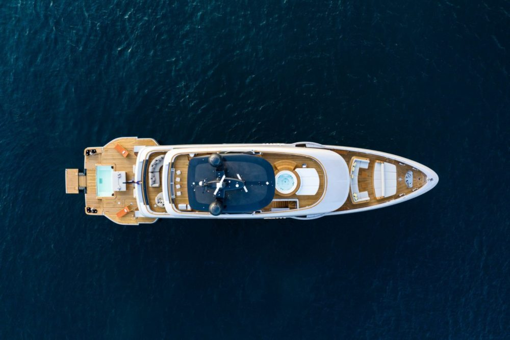 Benetti's Oasis 40M offers a new take on the concept of a lifestyle yacht