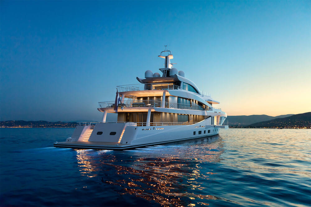 Modern elegance redefined: Amels 200 is a brand new 60m superyacht available from spring 2021