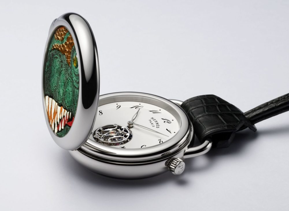Hermès ARCEAU Pocket Aaaaargh, an exceptional pocket watch
