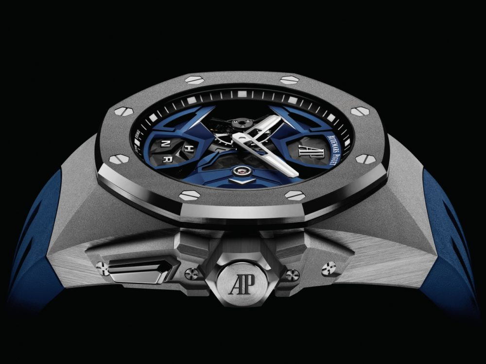 A new design for Audemars Piguet's Royal Oak Concept Flying Tourbillon GMT