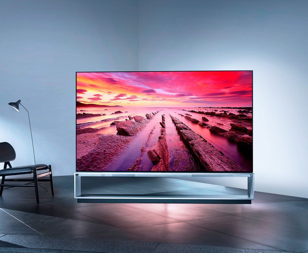 OLED TV Z9—LG's Signature OLED TV takes 8k to new levels