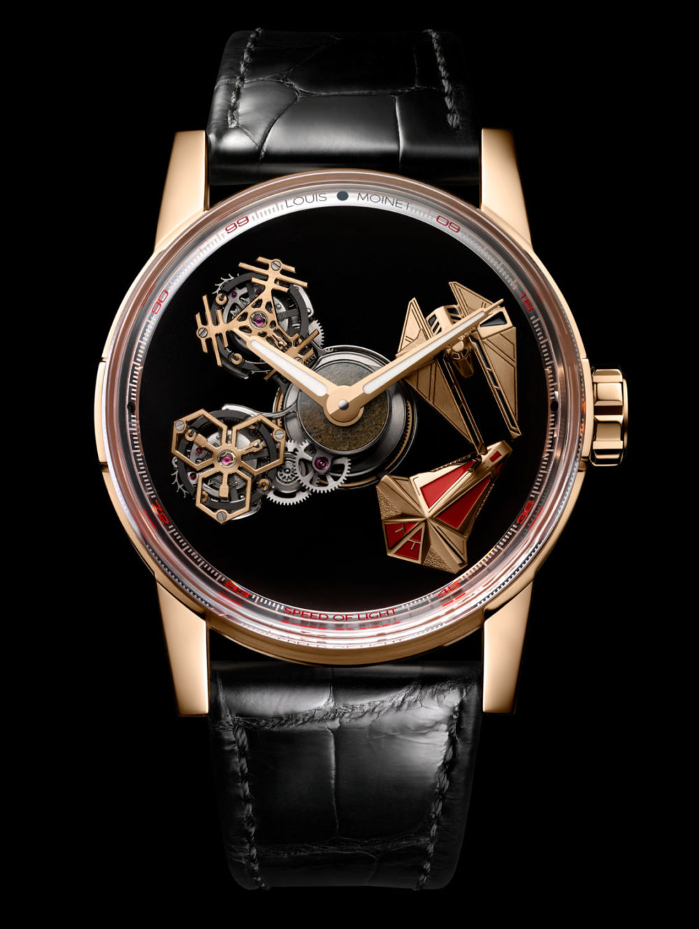 Louis Moinet: The Space Revolution, when innovation is science fiction