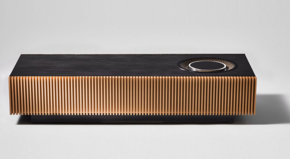 The new Naim for Bentley Mu-So Special Edition Wireless Speaker