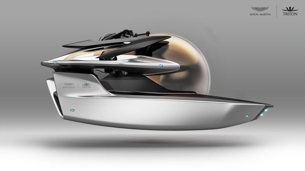 Triton x Aston Martin Project Neptune: a limited edition state-of-the-art submersible for superyacht owners