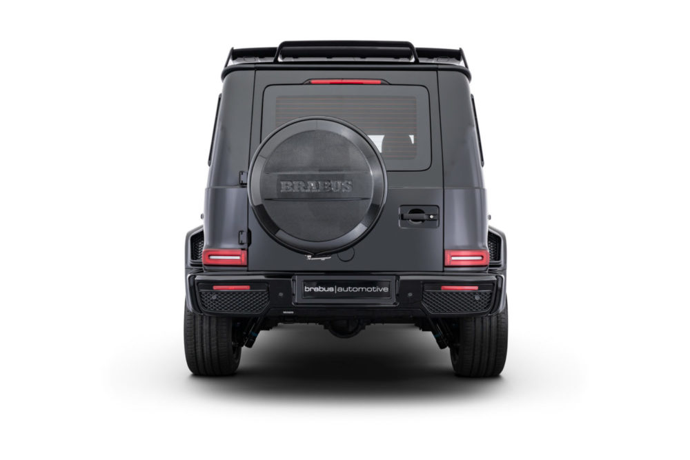 Brabus INVICTO Luxury VR6 Plus ERV is a fully certified armoured vehicle with blast protection