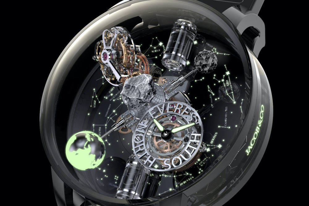 Jacob & Co.'s new Astronomia 'Mount Everest' watch, limited to 24 pieces