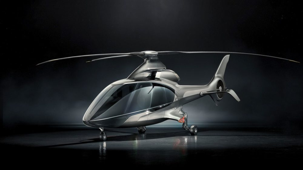 Hill Helicopters redefines helicopter design with the new HX50