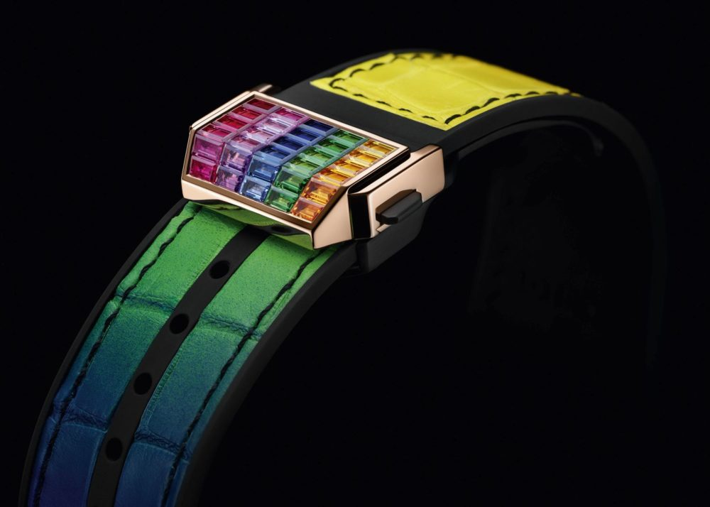 Introducing Hublot's Big Bang Unico Full Baguette King Gold Rainbow