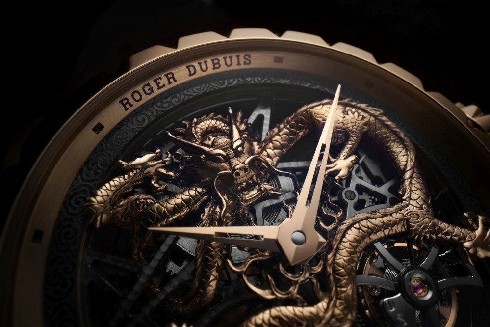Roger Dubuis presents the Excalibur Feng (Phoenix) and Excalibur Long (Dragon)