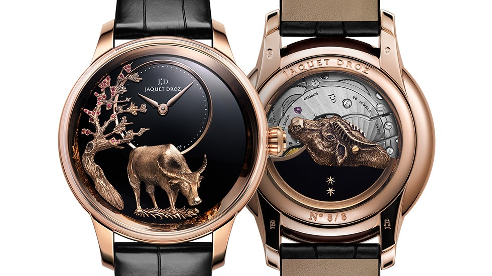 Jaquet Droz Limited Series celebrates the Chinese zodiac sign of the Ox